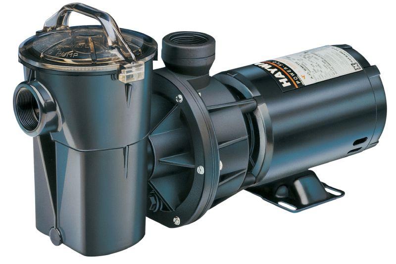 Hayward power flo ii aboveground pool pump for Hayward pool pump 1 5 hp motor
