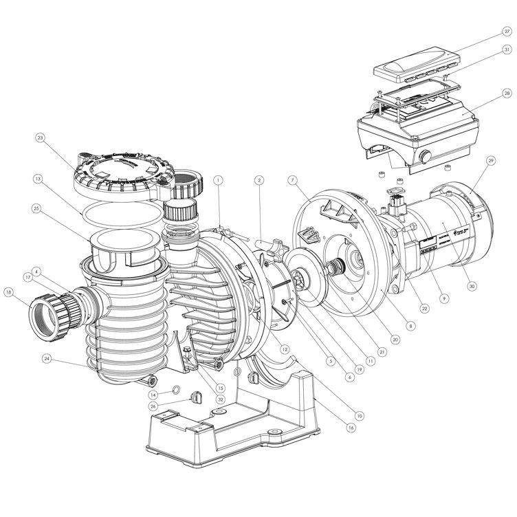 Sta Rite Intellipro Programmable Variable Speed Pool Pump