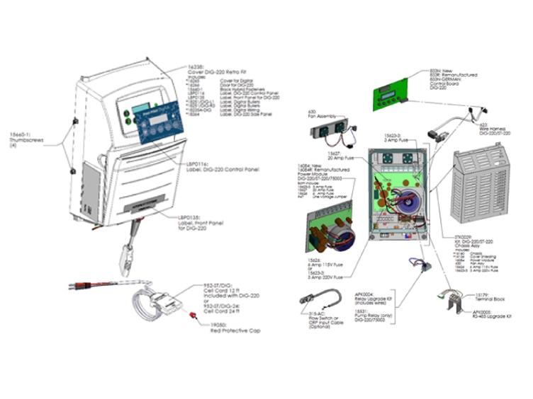 Autopilot Pool Pilot Digital Salt Cell Power Supply System